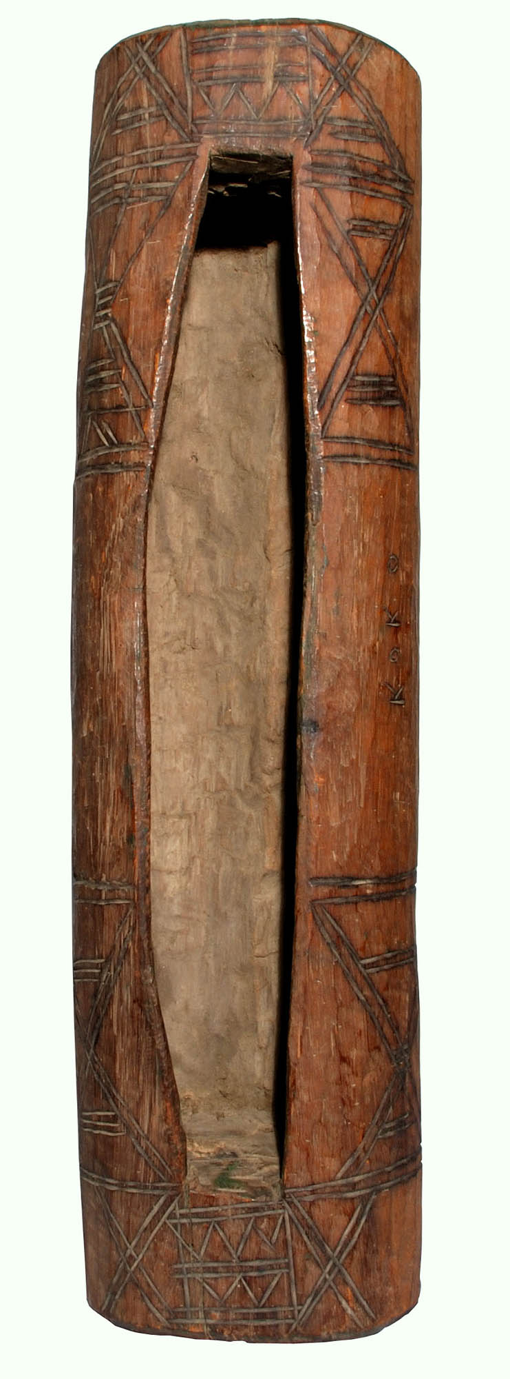 Wooden slit gong