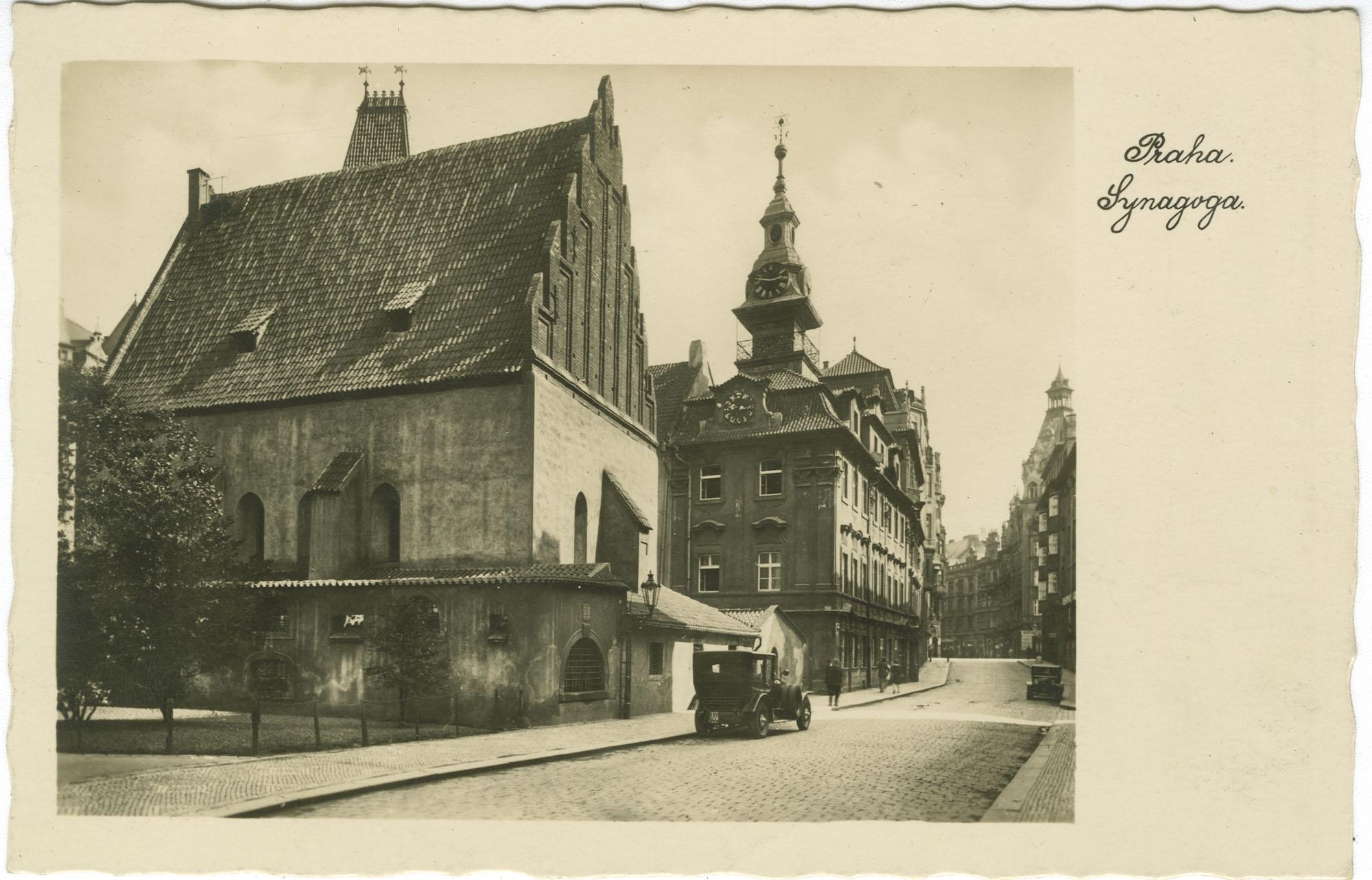 Praha. Synagoga.