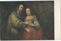 Rembrandt van Rijn. Het Joodsche bruidje / The Jewish bride / Die Judenbraut / La Fiancée juive