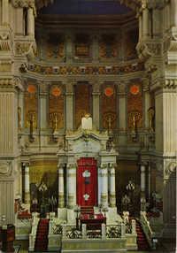 Roma - Tempio Israelitico - Interno