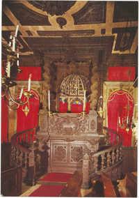 Venezia. Scola Levantina: la Bimah.