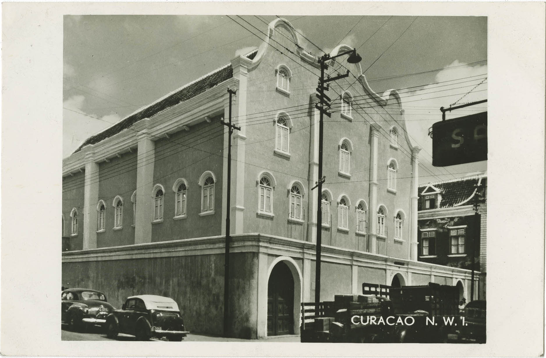 Curacao, N.W.I., Synagogue Mikve Israel - Orthodox - (1730)
