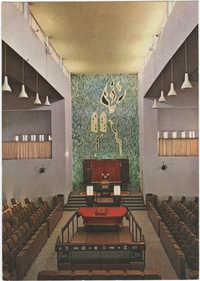 רמת גן - ארון הקודש בבית הכנסת הגדול / Ramat Gan - The holy ark at the Great Synagogue