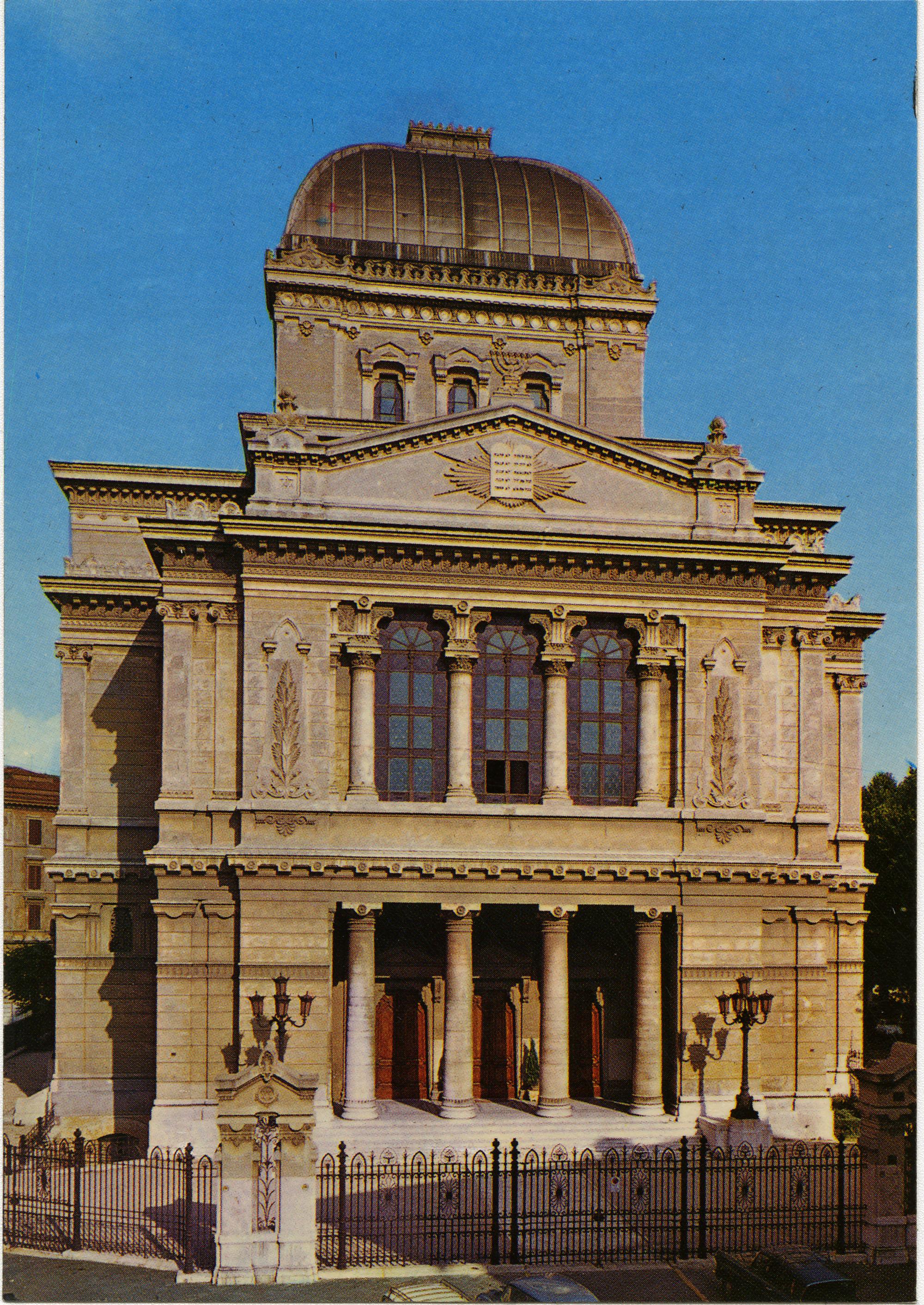 Roma. Tempio Israelitico
