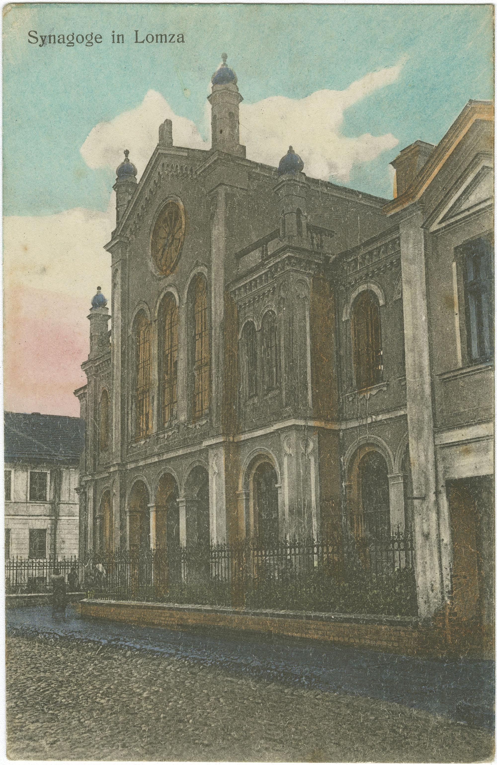 Synagoge in Lomza