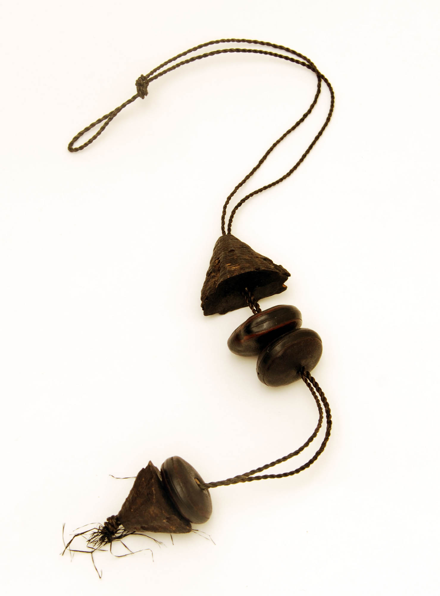 Cocoa bean necklace