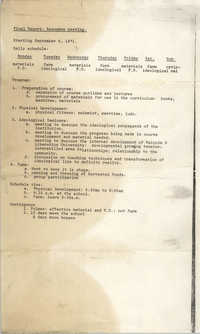 Malcolm X Liberation University Final Report, September 6, 1971