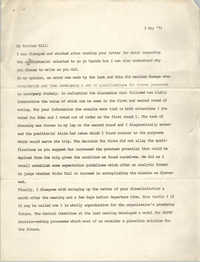 Letter from Jan Bailey, May 3, 1973