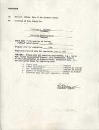 Memorandum to Donald V. DeRosa, June 5, 1987