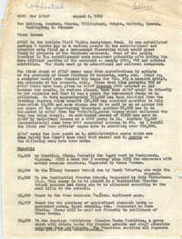 Memorandum from Betty Garman to Cleveland Sellers, August 6, 1965