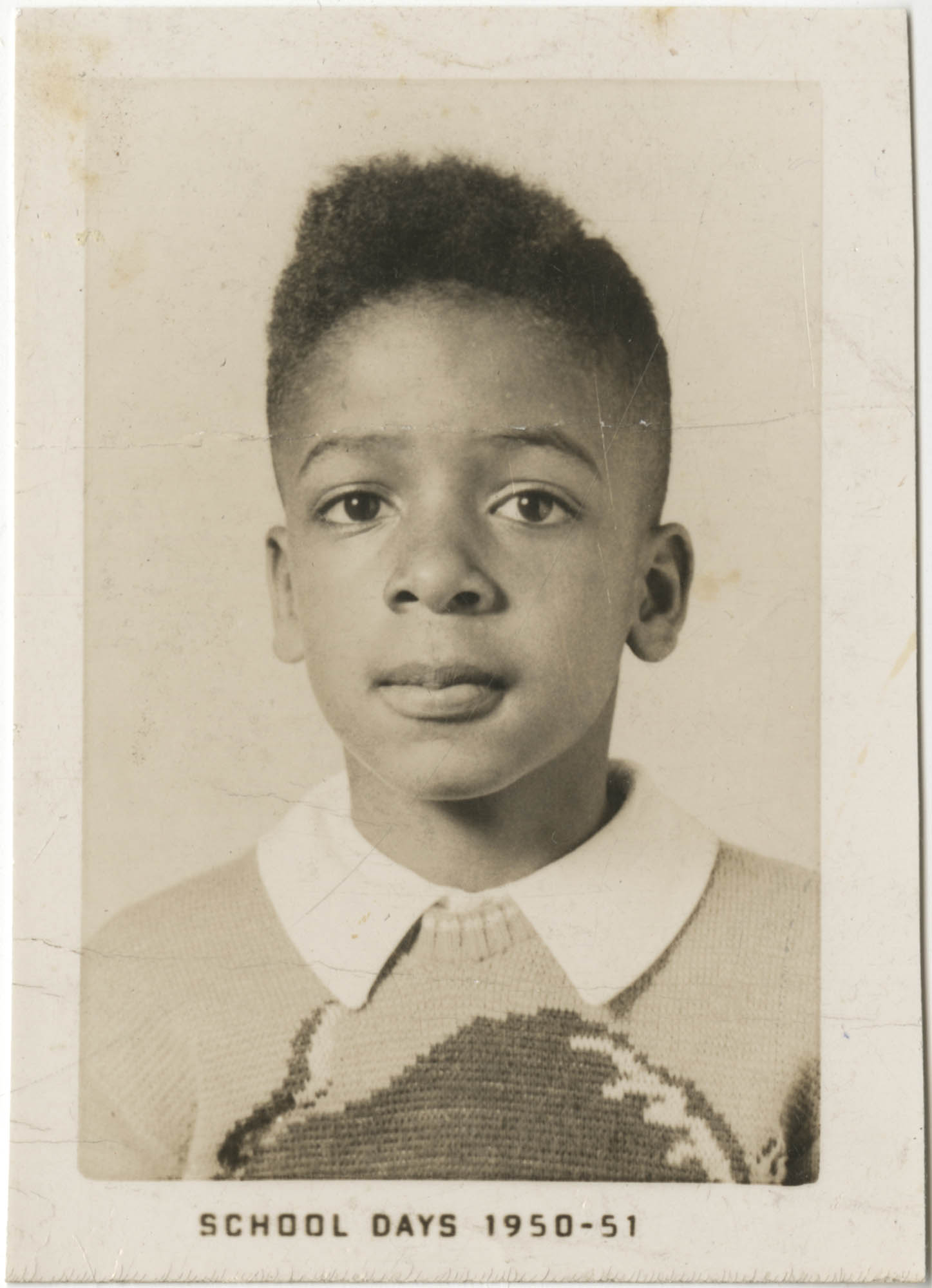 Photograph of Cleveland Sellers as a Boy, 1950-51