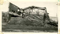Demolished Warehouse on Concord Street After the 1938 Tornado
