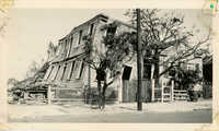 Fishburne Street House After the 1938 Tornado