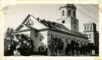 St. Michael's Church After the 1938 Tornado