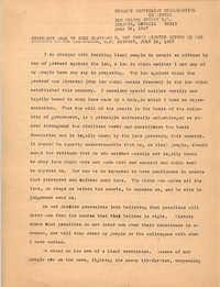 Student Nonviolent Coordinating Committee Press Release, June 26, 1967