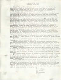 Minutes of Tau Omega, October 3, 1985