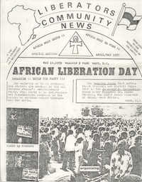 African Liberation Day 1979 Flyer