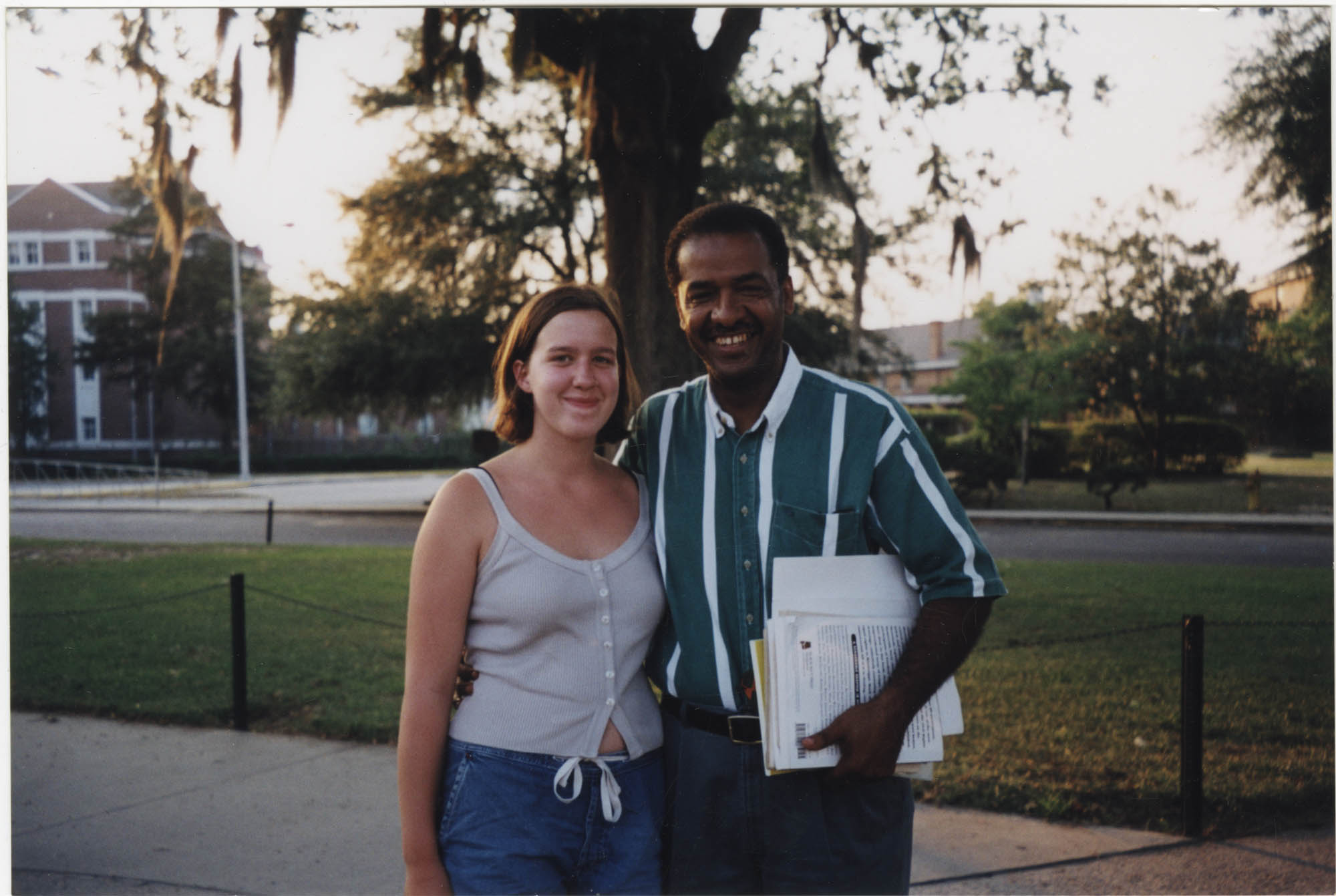 Photograph of Cleveland Sellers and Young Woman