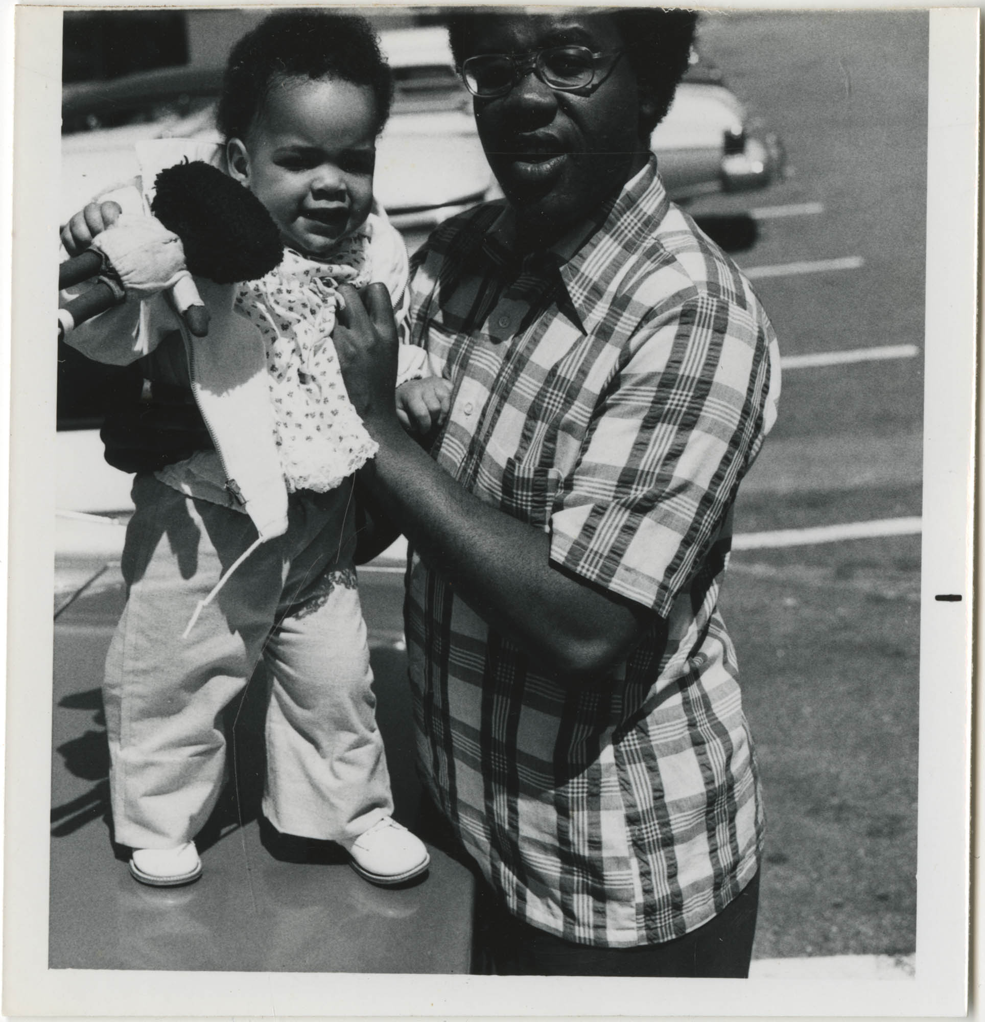 Photograph of Man and Baby