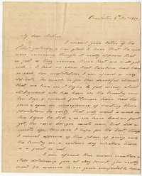 023. Hetty B. Heyward to Mother -- November 8, 1817