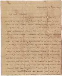 021. Hetty B. Heyward to Mother -- September 18, 1817