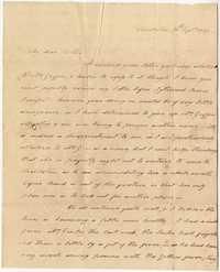 020. Hetty B. Heyward to Mother -- September 13, 1817