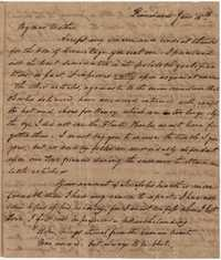 039. William Manigault Heyward to Mother -- June 16, 1820