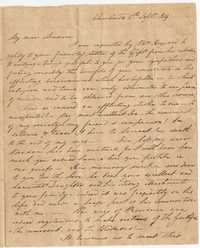 036. Nathaniel Heyward to Mrs. Barnwell -- September 6, 1819
