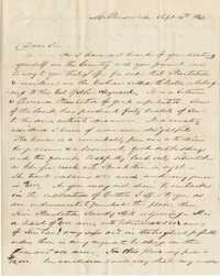 073. Daniel Heyward to James B. Heyward -- September 14, 1842