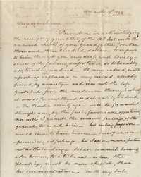 075. Mathew Irvine Keith to James B. Heyward -- March 19, 1844