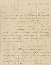 070. Nathaniel Heyward to James B. Heyward -- November 25, 1838