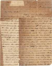 002. Nathaniel Heyward (II) to Mother -- August 9, 1806