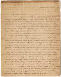 012. Hetty Heyward to Mother -- October 19, 1814