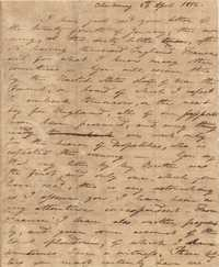 008. Nathaniel Heyward (II) to Mother -- April 24, 1812