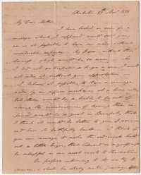 015. Nathaniel Heyward (II) to Mother-in-Law -- November 29, 1816