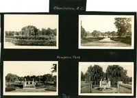Charleston Scenes, Page 4 (back): Hampton Park Scenes