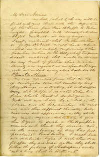Letter from John R. Beaty to James H. Norman, Part II, August 1860