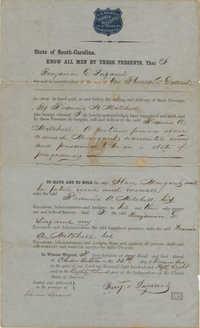 Slave Bill of Sale