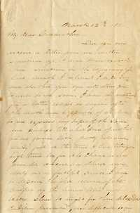 092. Samuel Wragg Ferguson to F.R. Barker (Godmother) -- March 12th, 1856