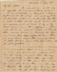 030. Nathaniel Heyward (II) to Mother-in-Law -- May 31, 1819