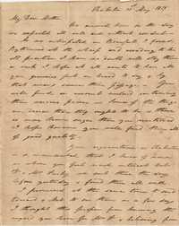 030. Nathaniel Heyward (II) to Mother-in-Law -- May 31, 1819