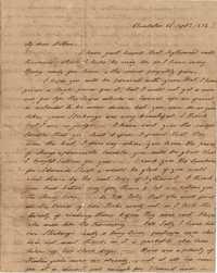 026. Hetty B. Heyward to Mother -- September 22, 1818