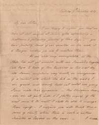 027. Hetty B. Heyward to Mother -- November 9, 1818