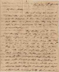 029. Nathaniel Heyward (II) to Mother-in-Law -- April 24, 1819