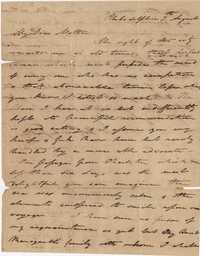 033. Nathaniel Heyward (II) to Mother -- August 7, 1819