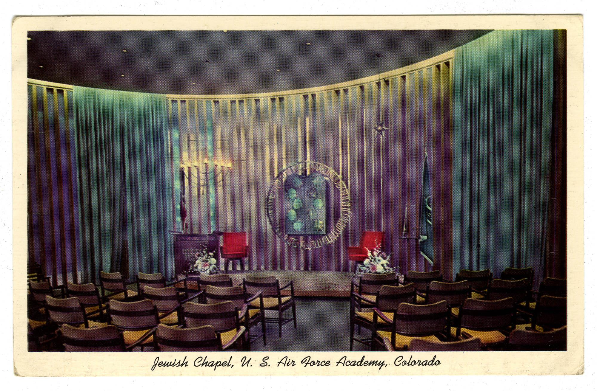 Jewish Chapel, U.S. Air Force Academy, Colorado