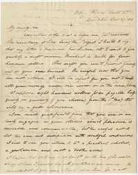 050. Nathaniel Heyward to James B. Heyward -- December 27, 1834