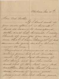 099. Kate Ferguson to F.R. Barker  -- January 11th (ca. 1864)