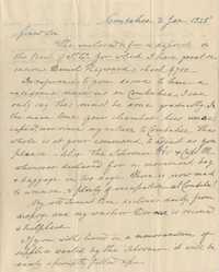 103. Nathaniel Heyward to James B. Heyward -- January 2, 1845