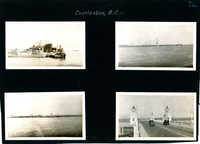 Charleston Scenes, Page 1 (front):  Charleston Harbor / Ashley River Bridge